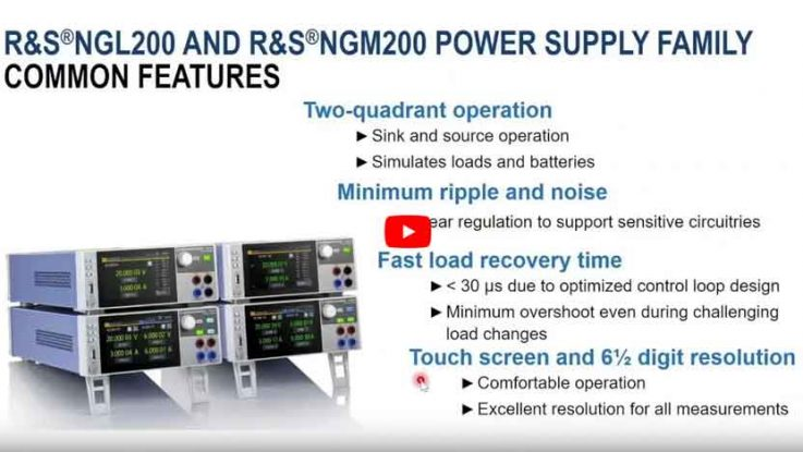 NGL200 und NGM200 Features Videolink