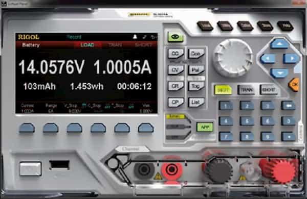 Rigol-elektronische Lasten-Artikel-Bild-5a-Batterietest-DL3021/ DL3021A/ DL3031/ DL3031A