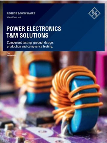Rohde-Schwarz-Power-electronics-Test-Solutions