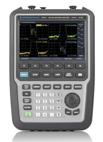 Rohde & Schwarz ZNH Zweitor-Vector-Netzwerkanalysator - Allice Messtechnik